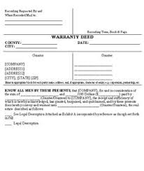 warranty deed conveying oil gas and minerals template business