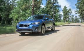 subaru crosstrek offroad 2018 subaru crosstrek first drive review car and driver