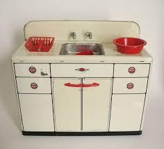Kitchen Sink Play Vintage 1950 S Wolverine Metal Kitchen Sink With Accessories