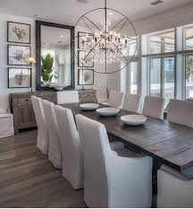 Chic Dining Room Rustic Chic Dining Room