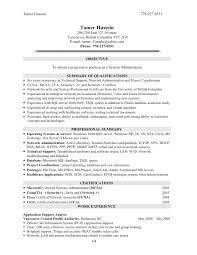 Sample Resume For Experienced Linux System Administrator by Linux System Administrator Resume Sample Haerve Job Resume Linux