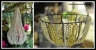 Beaded Chandelier Diy Diy Beaded Chandelier Tutorial Diy Home Tutorials