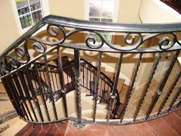 Iron Banister Rails Cost Of Wrought Iron Railings Free Stylish Wrought Iron Stair