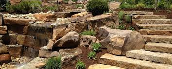 boulders little bits landscape supply