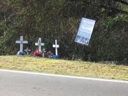 memorial crosses for roadside roadside crosses just a cloud away inc journal