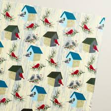 bird wrapping paper bird houses wrapping paper roll world market