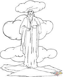 sermon on the mount coloring page free printable coloring pages