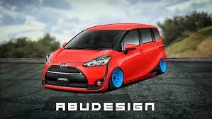 Toyota Sienta Stance By Abutupolev On Deviantart