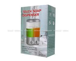 Sabun Cair jual dispenser sabun cair tempat shoo 2 tabung t02 murah