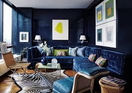 blue livingroom 25 stunning living rooms with blue velvet sofas