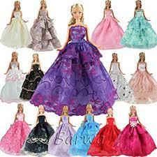 amazon com barwa 5 pcs handmade fashion wedding party gown