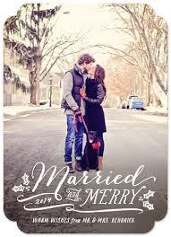 married christmas cards hooray creative