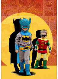 1960 halloween costume classic batman and robin kids u0027 diy costumes 5 steps with pictures