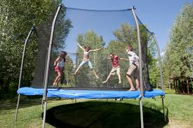 advice on buying a trampoline for your kids