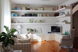 Living Room Corner Shelf by Interior Captivating Corner Shelves Corner Shelves
