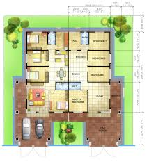 Single Storey Floor Plans by Malaysia Single Terrace House Floor Plans Semi Detached Plans