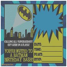 batman invitation cards infoinvitation co