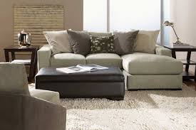 Grey Chaise Sectional Furniture Black Leather Tufted Sectional Sofa With Chaise And