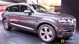 Audi Q7 Inside 2016 Audi Q7 Tdi Quattro Exterior And Interior Walkaround 2015