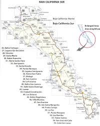 Map Of The Coast Of California Map Of The Baja California Peninsula Of Mexico Bajainsidercom Map