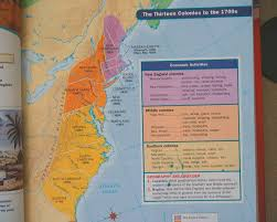 Map Of New England Colonies by Unit 1 Colonial America Mr Russo U0027s Class
