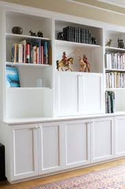 custom built in u2014 57th street bookcase u0026 cabinet