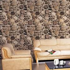 3d Wallpaper Interior China River Stone Design Home Decoration Living Room 3d Wallpaper