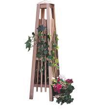 arboria manhattan 56 in obelisk trellis 860 1698 the home depot