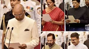 Central Cabinet Ministers 9 New Ministers Join Pm Narendra Modi Government 4 Elevated As