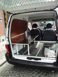 peugeot partner try the small a room with a view u2013 peugeot partner converted into campervan