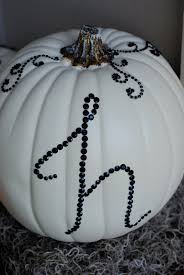 Diy Halloween Ornaments Diy Halloween Decor Sequined Pumpkins Making Lemonade