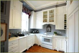 Kitchen Island Range Grey Kitchen Walls With White Cabinets White Leather Bar Stools