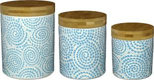 kitchen canisters glass turquoise blue kitchen canisters containers glass magnus lind com