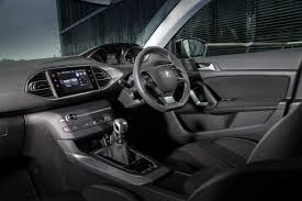 peugeot 308 interior before the test drive peugeot 308 allure thp 110