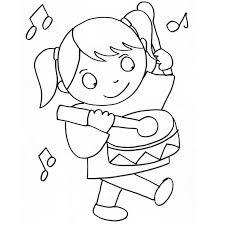 coloriage fille 3 ans a imprimer gratuit az coloriage