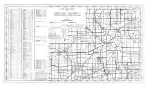 Brunswick Ohio Map by Medina County Engineer