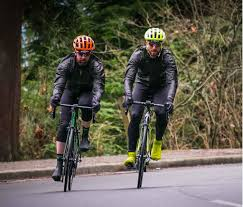 cycling waterproofs presenting the oro performance jacket by 7mesh