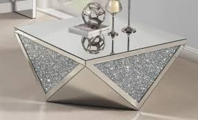 silver mirrored coffee table mirrored coffee table the glamorous accent every living room needs