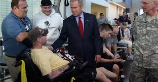 why george w bush let a soldier u0027s mom yell at him