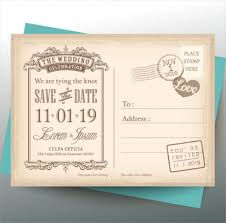 wedding postcards 39 postcard templates and exles