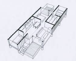 Storage Container Floor Plans - great design but i u0027d add one more container building my dream