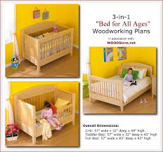 Free Woodworking Plans For Baby Crib by Build Your Own Bed Plans Wood Magazine