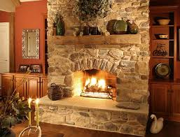 fireplace ideas with stone stacked stone fireplace ideas eva furniture