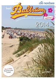Komplett K Hen K Henzeile Gastgeberverzeichnis Baltrum 2014 By Ostfriesland Tourismus Gmbh