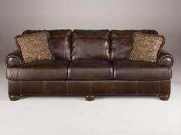 furniture leather couch elegant ashley furniture axiom walnut