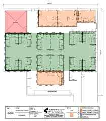 office layout plan in square shaped office building officelayout