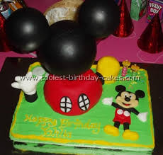 coolest mickey mouse picture cakes on the web u0027s largest homemade