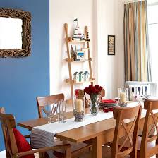 themed dining room striped curtain room colour home nautical dining