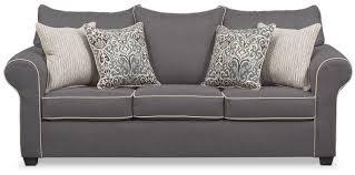 Grey Sleeper Sofa Carla Memory Foam Sleeper Sofa Gray Value City Furniture