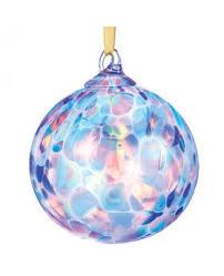 glass eye studio blown glass ornament seattle raindrop
